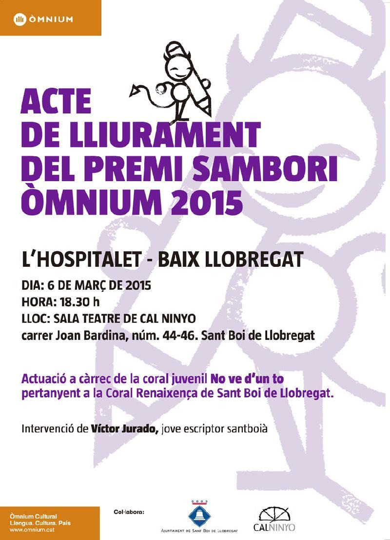 La final del Premi Sambori Omnium Baix Llobregat