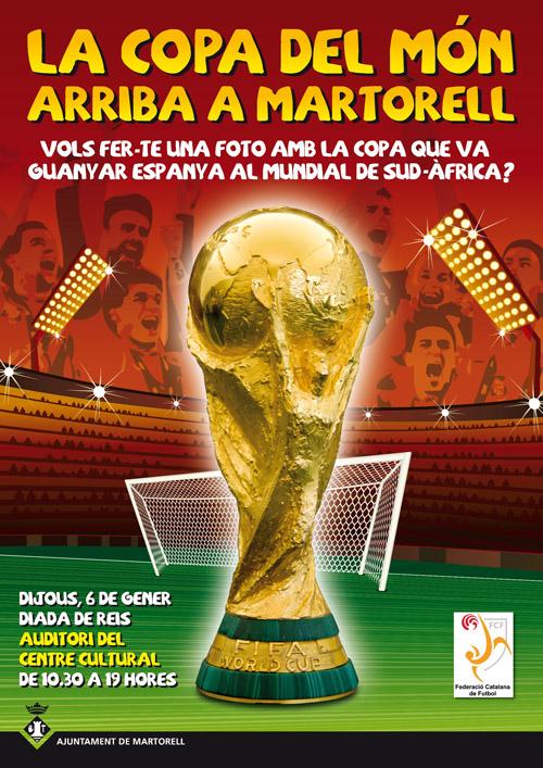 La Copa del M??n es podr?? visitar a Martorell
