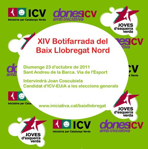 Botifarrada d'ICV del Baix Llobregat Nord